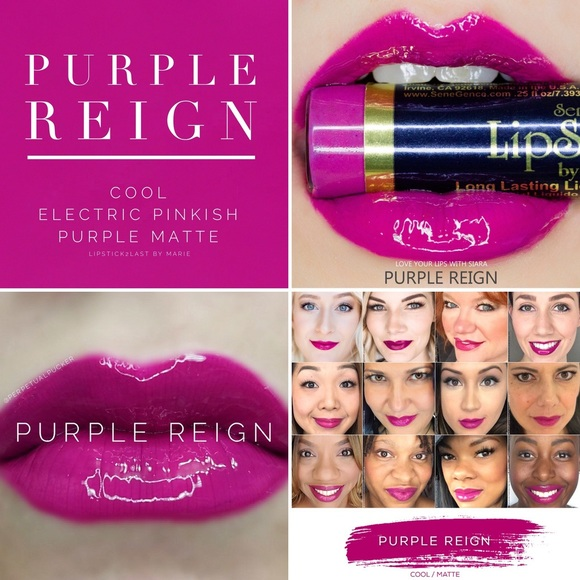 43ccf5986d6 NEW LipSense Purple Reign 👑 Sealed